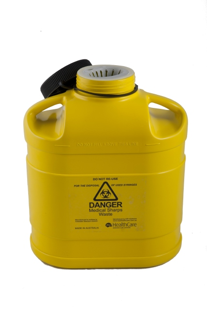Sharps Container - 5 Litre Screw Top